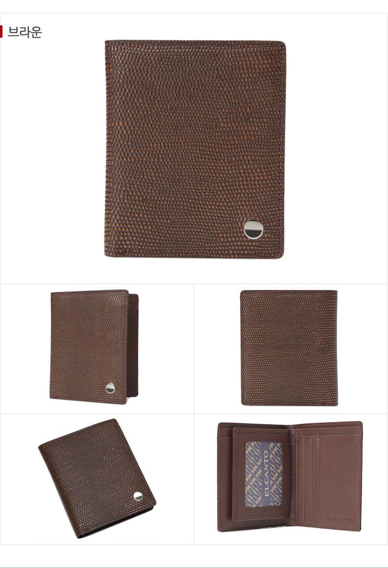 [ ELCANTO ] ELCANTO Men\'s Leather Wallet LCZ2626E05