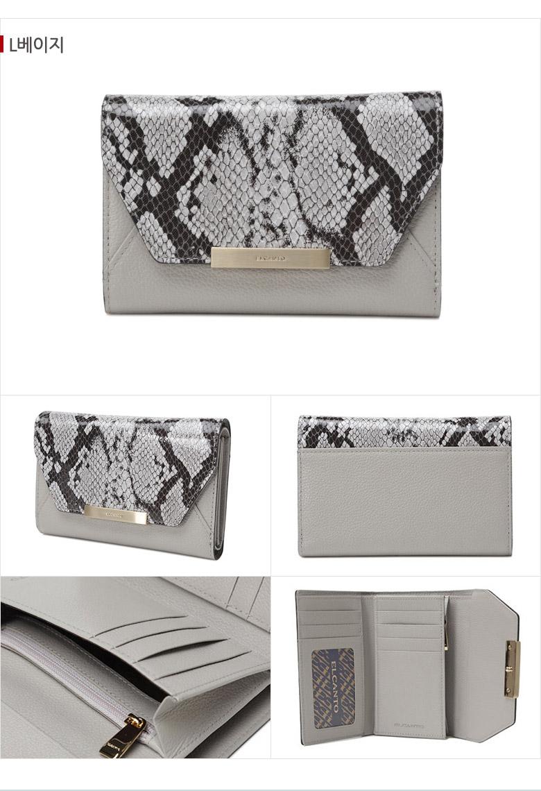 [ ELCANTO ] ELCANTO Women\'s Leather Wallet LCZ2626N04